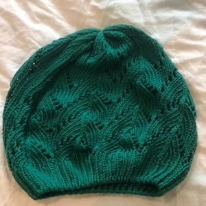 Urban outfitters knitted slouchy beanie